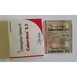 Caberdost 4 таблетки по 0,5 мг