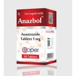 Анастрозол Аnazbol Cooper 50 таблеток (1 таб 1 мг)