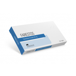 Торемифен (торемифена цитрат) PharmaCom Labs 100 таблеток (1 таб 20 мг)