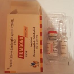 Гонадотропин Human Pharmacia (1 ампула 1 мг) 5000 Ед