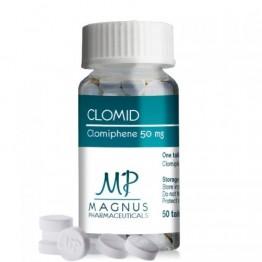 Кломид Magnus Clomid 50 таблеток (1 таб 50 мг)