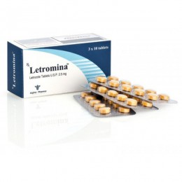Letromina (Летрозол) Alpha Pharma 30 таблеток (1 таб 2.5 мг)