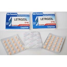 Летрозол Balkan Pharmaceuticals 20 таблеток (1 таб 2.5 мг)