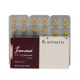 Летрозол Фемара (Femara) 30 таблеток (1таб 2.5 мг)
