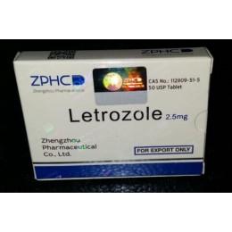 Letrozole (Летрозол) ZPHC 50 таблеток (1 таб 2.5 мг)