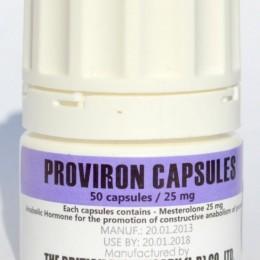 Провирон British Dispensary 50 таблеток (1 таб 25 мг)