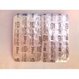 Proviron-ver (Провирон, Местеролон) Vermodje 50 таблеток (1 таб 50 мг)