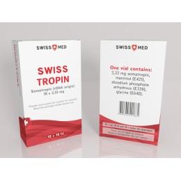 Гормон роста Swiss Med Swiss Tropin 10 флаконов по 10 ед