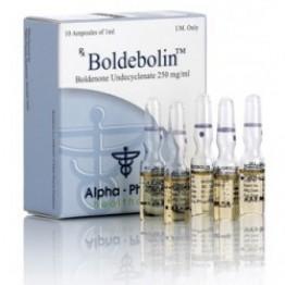 Boldebolin (Болденон) Alpha Pharma 10 ампул по 1 мл (1 амп 250 мг)