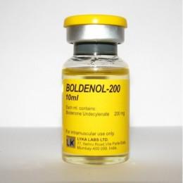 Болденон Lyka Labs Boldenol-200 баллон 10 мл (200 мг/1 мл)