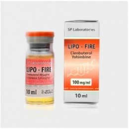 Кленбутерол с йохимбином LIPO-FIRE Sp Laboratories 10 мл флакон (40 мкг + 5.4 мг йохимбина)