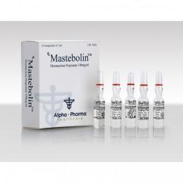 Mastebolin (Мастерон) Alpha Pharma 10 ампул по 1 мл (1 амп 100 мг)
