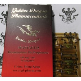 Mastaged (Мастерон) Golden Dragon 10 ампул по 1 мл (1 амп 100 мг)