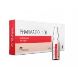Метандиенон (Pharma Bol 100) PharmaCom 10 ампул по 1 мл (1 амп 100 мг)