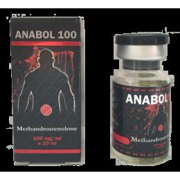 ANABOL 100 (Метан, Метандиенон) UFC Pharm баллон 10 мл (100 мг/1 мл)