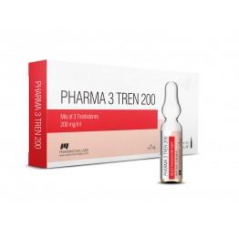 Три-тренболон (Pharma 3 Tren 200) PharmaCom 10 ампул по 1 мл (1 амп 200 мг)
