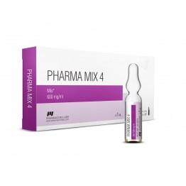 Pharma Mix 4 PharmaCom Labs 10 ампул по 1 мл (1 амп 600 мг)