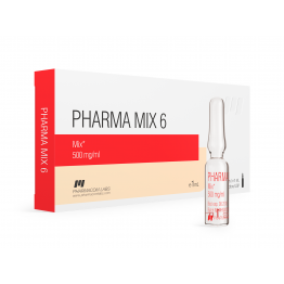 Pharma Mix 6 PharmaCom Labs 10 ампул по 1 мл (1 амп 500 мг)