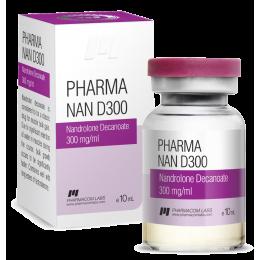 Pharma Nan D300 (Дека, Нандролон деканоат) PharmaCom Labs баллон 10 мл (300 мг/1 мл)