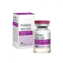 Pharma Nan D600 (Нандролона деканоат) PharmaCom Labs баллон 10 мл (600 мг/1 мл)