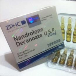 Дека ZPHC (Нандролон Деканоат) 10 ампул (1 амп 250 мг)