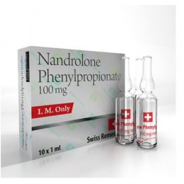 Нандролон фенилпропионат Swiss Remedies Nandrolone Phenylpropionate 10 ампул (100 мг/ 1 мл)