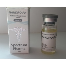 Нандролон фенилпропионат (Nandro PH) Spectrum Pharma баллон 10 мл (100 мг/1 мл)