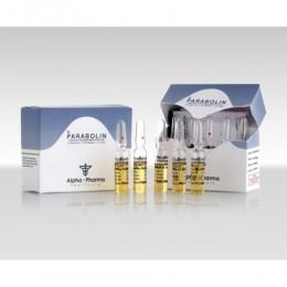 Parabolin (Тренболон) Alpha Pharma 5 ампул по 1.5 мл (1 амп 76.5 мг)