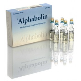 Примоболан (Alphabolin) Alpha Pharma 5 ампул по 1 мл (1 амп 100 мг)