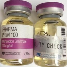 Pharma Prim 100 (Метенолон, Примоболан) PharmaCom Labs баллон 10 мл (100 мг/1 мл)