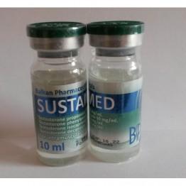 Sustamed (Сустанон) Balkan флакон 10 мл (250 мг/1 мл)
