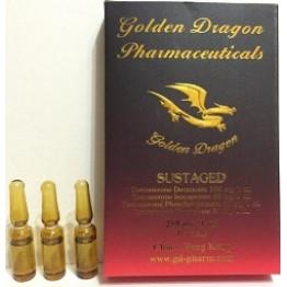 Сустанон (Sustaged) Golden Dragon 10 ампул по 1 мл (1 амп 250 мг)