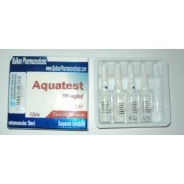 Aquatest (Суспензия Тестостерона) Balkan 10 ампул по 1 мл (1 амп 100 мг)
