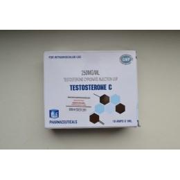 Тестостерон ципионат Ice Pharma 10 ампул по 1мл (1амп 250 мг) Индия