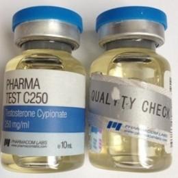 Pharma Test C250 (Тестостерон ципионат) PharmaCom Labs баллон 10 мл (250 мг/1 мл)