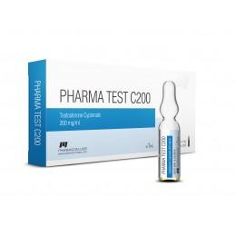 Pharma Test C200 (Тестостерон ципионат) PharmaCom 10 ампул (200 мг/1 мл)