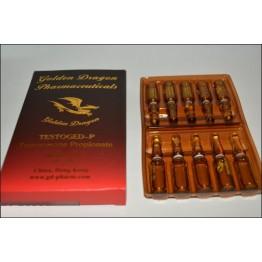 Тестостерон пропионат (Testoged P) Golden Dragon 10 ампул по 1 мл (100 мг/1 мл)