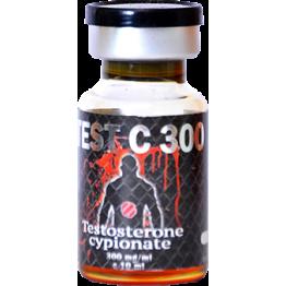 TEST C 300 (Тестостерон ципионат) UFC Pharm баллон 10 мл (300 мг/1 мл)