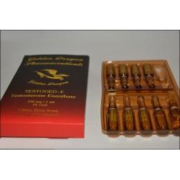 Тестостерон энантат (Testoged-E) Golden Dragon 10 ампул по 1 мл (1 амп 250 мг)