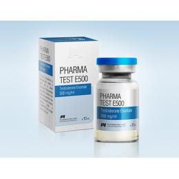 Pharma Test E500 (Тестостерон энантат) PharmaCom Labs баллон 10 мл (500 мг/1 мл)