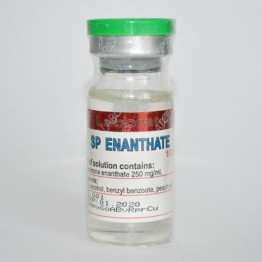 Enanthate (Тестостерон энантат) SP Laboratories 10 мл (250 мг/1 мл)