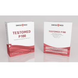 Тестостерон пропионат Swiss Med Testomed P100 (10 ампул) 100 мг/1 мл