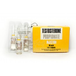Тестостерон пропионат British Dispensary 3 ампулы по 1 мл (100 мг/1 мл)