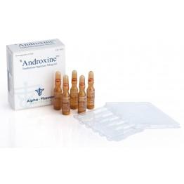 Androxine (Суспензия тренболона) Alpha Pharma 10 ампул по 1 мл (1 амп 50 мг)