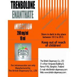 Тренболон энантат British Dispensary баллон 10 мл (200 мг/1 мл)