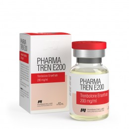Pharma Tren E200 (Тренболон энантат) PharmaCom Labs баллон 10 мл (200 мг/1 мл)