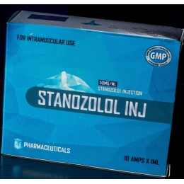 Винстрол, Станазолол Ice Pharma 10 ампул по 1 мл (1 амп 50 мг)