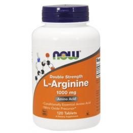 L-Аргинин Now Foods 1000 мг (120 таблеток)
