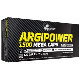 Аргинин Olimp ArgiPower 1500 Mega Caps (120 капсул)