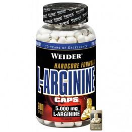 L-Arginine Weider (200 капсул)
